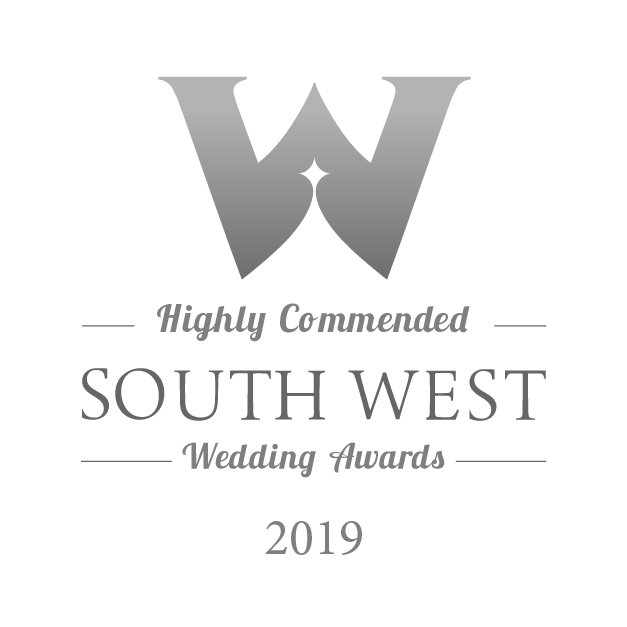 Highly Commended - South West Wedding Awards 2019